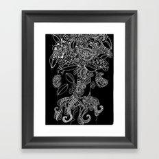 Paisley Tree Framed Art Print