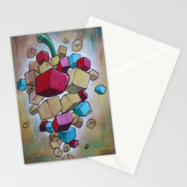 Cubist Grapes V2 Stationery Cards