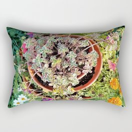 Topsy Turvy from the Top Rectangular Pillow