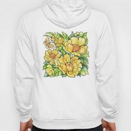 Yellow Flowers Hoody