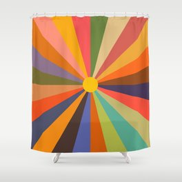 Sun - Soleil Shower Curtain