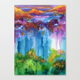 The Morning Stars Canvas Print