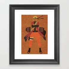 Sage Naruto Framed Art Print