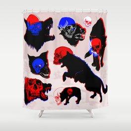 Hell hounds Shower Curtain