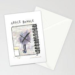 Argle Blargle Stationery Cards
