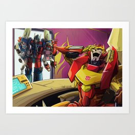 Primus, you guys what?! Art Print