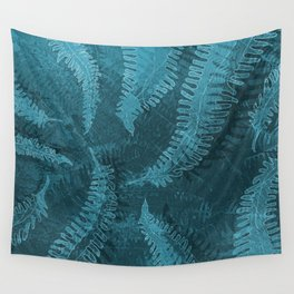 Ferns (light) abstract design Wall Tapestry
