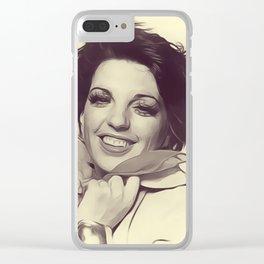 Liza Minnelli Clear iPhone Case