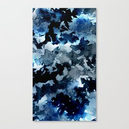 Shadows - Blue Dream Canvas Print
