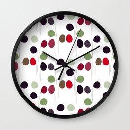 Abstract balloons pattern Wall Clock