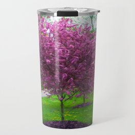 Pink Blossom Travel Mug
