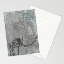 Half Tone Mammoth Stationery Cards