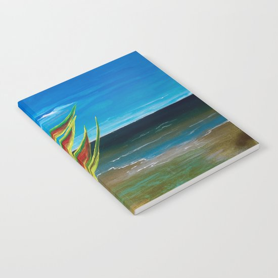 Heliconia Tropical Parrot Plant Take Me There Notebook