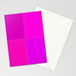 QUARTERS #1 (Purples, Magentas & Fuchsias) Stationery Cards