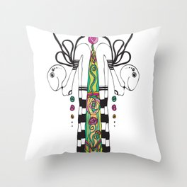 Bipartition Throw Pillow