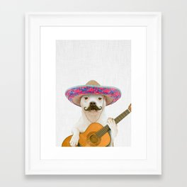 TITO PANCHITO Framed Art Print