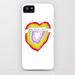 Heart of Miscellaneous iPhone Case