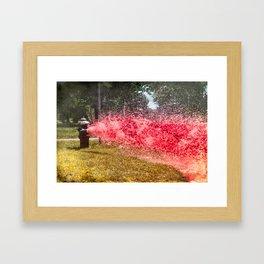 Cool aid Framed Art Print