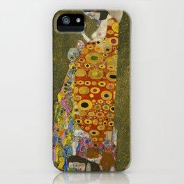 Gustav Klimt / Hope II iPhone Case