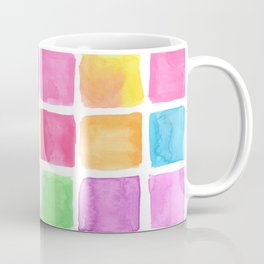 Hand painted watercolor patterns Coffee Mug