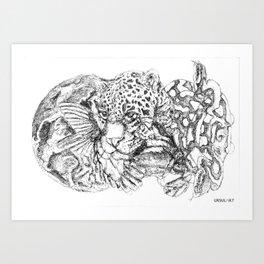 Gondwana One Art Print