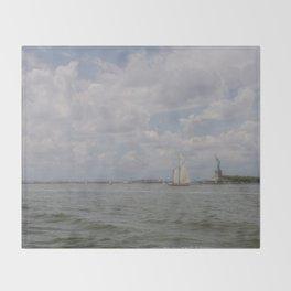 Liberty & Sails Throw Blanket
