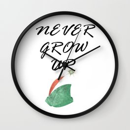Never Grow Up - I Wall Clock