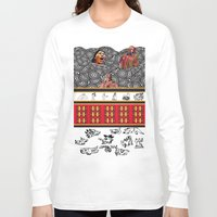 ethnic Long Sleeve T-shirts featuring ETHNIC by CaritoMo