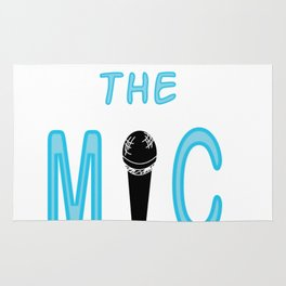 Show Some Respect Tshirt Designs Respect the mic Rug