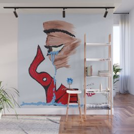 Love See's All Wall Mural
