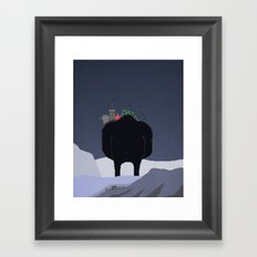 Mountain Giant Framed Art Print