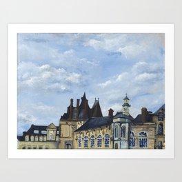 Fontainebleau Art Print
