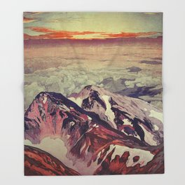 Victory the Climb Throw Blanket