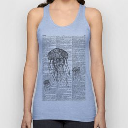 Free Floating Trio Unisex Tank Top