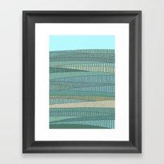 Summer Fields Framed Art Print