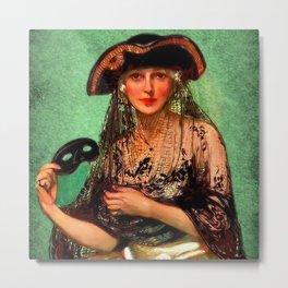 Pirate Jenny Metal Print