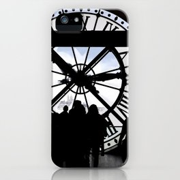 El reloj de Orsay iPhone Case