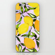 Citrus lemons iPhone & iPod Skin