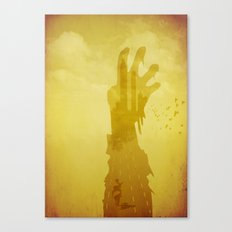 Abandoned Highway Canvas Print