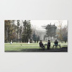 1920 - afternoon tea Canvas Print