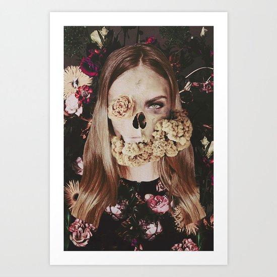 Deadly Girl Art Print
