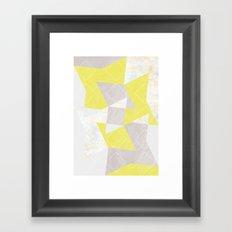 composition_No.4 Framed Art Print