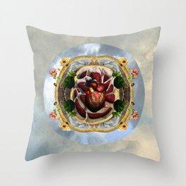 Sagrado Corazón Throw Pillow