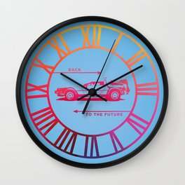 Back To The Future Clock Wall Clock