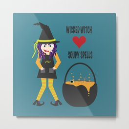 Wicked Witch Metal Print