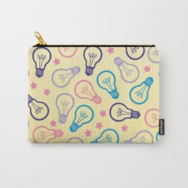 Cute Pastels Light bulb Pattern Carry-All Pouch