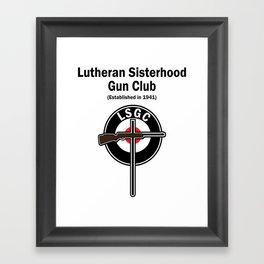 Gorgeous Gun Club Framed Art Print
