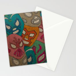 love lucha Stationery Cards