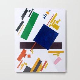 Kazimir Malevich - Suprematist Composition Metal Print