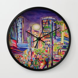 Granville At The Warehouse, Vancouver Wall Clock